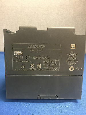 Siemens Simatic S7 6ES7 307-1EA00-0AA0 Power Supply