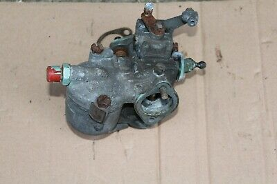 "Nos Solex 1 1/8"" Carburettor , Number On Brass Tag 3039 D06, Nuffield Morris Bmb"