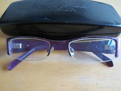 532515f313 RED OR DEAD 48 red   purple glasses frames. With case. - £2.99 ...