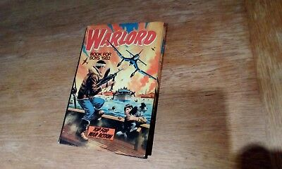 Warlord Annual, 1982, Hardback, Very Good Condition