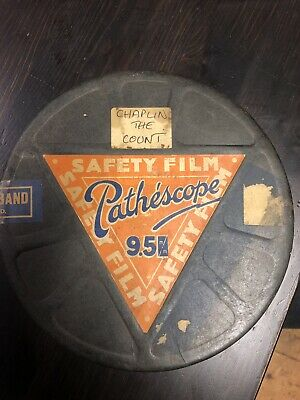 Pathescope 9.5mm Charlie Chaplin Film The Count