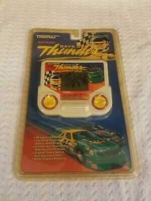 Vintage Tiger Electronics Days Of Thunder Handheld Game New In Package