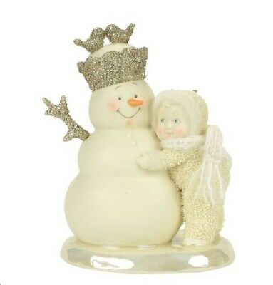 Department 56 Snowbabies SnowDream You're My King 4058462 R18 Snowman Hug Winter