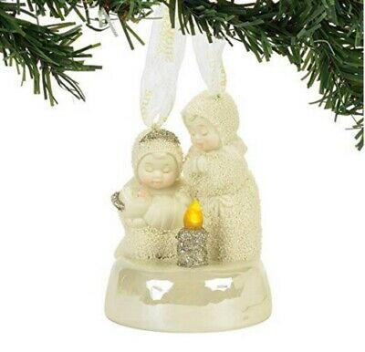 Department 56 Snowbabies SnowDream Light The Way Ornament 4058462 R18 Nativity