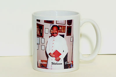 Personalized photo , Logo  Mug 11Oz - 2 sides Photos or Messages,   GREAT GIFT!