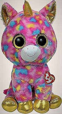 Ty Beanie Boo Fantasia The Unicorn (Glitter Eyes) (Large Size - 17 inch 10faabd9514d