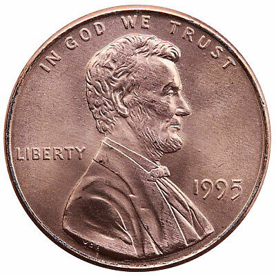 1995 Lincoln Memorial Cent Choice BU Penny US Coin