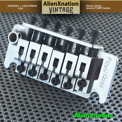 1983 Floyd Rose Non Fine Tuner Tremolo Made in Germany with 83 sustain block