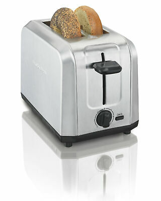 Hamilton Beach Brushed Stainless Steel 2-Slice Toaster Home Good
