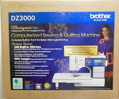 Designio Series by Brother DZ3000 240-Stitch Computerized Sewing & Quilting Mach