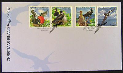 2010 FDC Christmas Island Frigatebird **First Day Cover** LOVELY ITEM