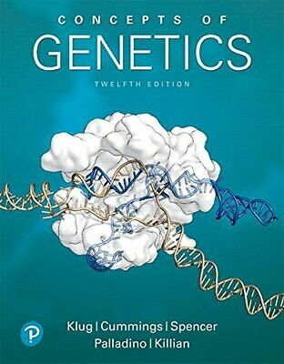 Concepts of Genetics (12th Edition) by Klug William S.|Cummings Michael R.|Sp…
