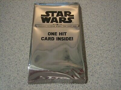 2017 Topps Star Wars Journey to the Last Last Jedi 1/1 SKETCH Hot Pack! COLORED?