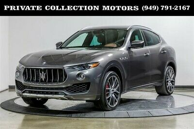 2017 Maserati Levante  2017 Maserati Levante S 1 Owner Clean Carfax Good Options Pristine