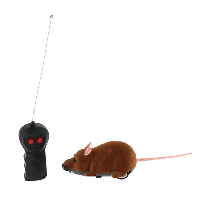 Funny Wireless Simulation Electronic Mouse Toy For Cat Gift Chaser Toys