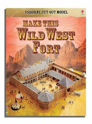 Cut-out Wild West (Usborne Cut-out Models) by I Ashman Paperback Book The Cheap