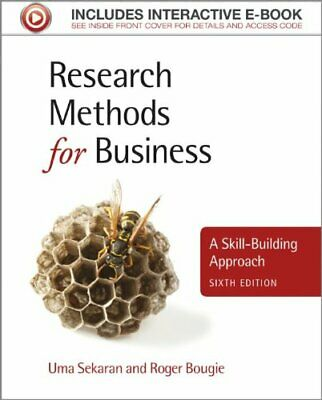 Research Methods for Business 6E by Bougie, Roger Book The Cheap Fast Free Post