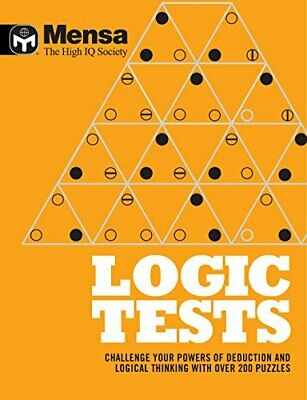 Mensa: Logic Tests by Mensa Book The Cheap Fast Free Post