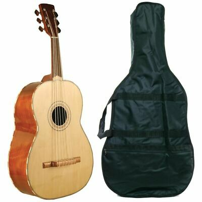 New Lucida LG-GR1 Mariachi Series Acoustic Guitarron with Gig Bag, Natural