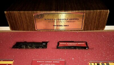 Con-Cor * Royal American Shows Limited Edition * Circus Set N Scale #008513