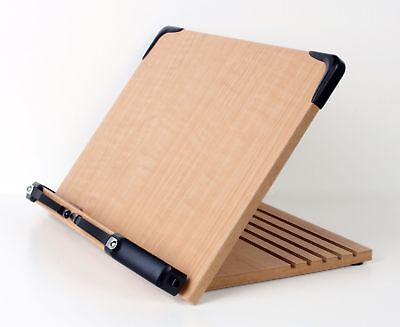 A+ Book Stand BS1500 Book Holder w/Adjustable Foldable Tray
