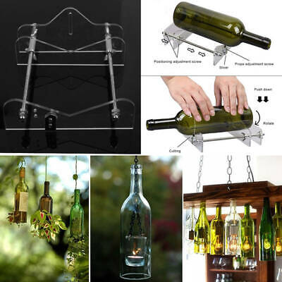 Glass Bottles Cutter Wine Beer Bottle Jar Machine DIY Handmade Cutting Tool AU