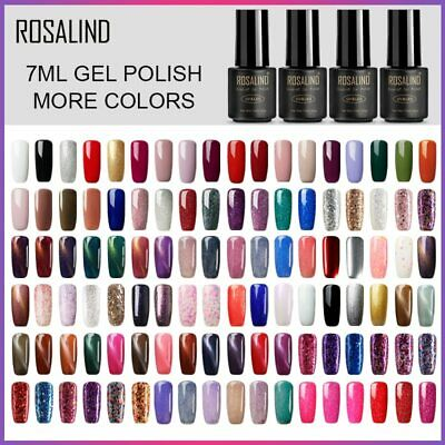ROSALIND Nail Art Gel Nail Polish Hybrid Set For Manicure Long lasting Lacquer