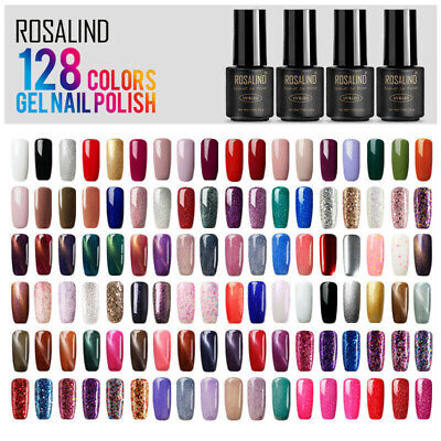 ROSALIND Nail Gel Polish 7ML Hybrid Colors Nail Art Semi Permanent Gel Varnish