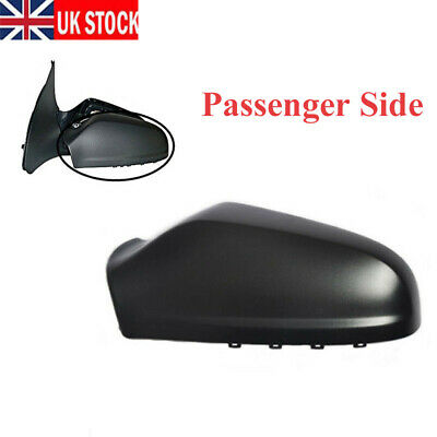 For VAUXHALL ASTRA H MK5 2004-2009 Wing Mirror Cover Cap Black Passenger Side