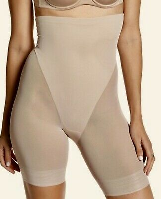 3e542c201 TC Fine INTIMATES High Waist Nude Thigh Slimmer Control Shaping Shorts  Womens L