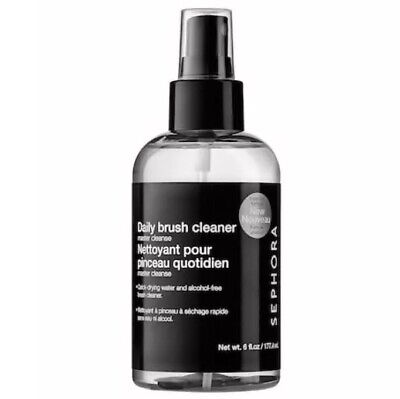 SEPHORA Master Cleanse: Daily Brush Cleaner 6oz FULL SIZE Quick Dry/Alcohol Free