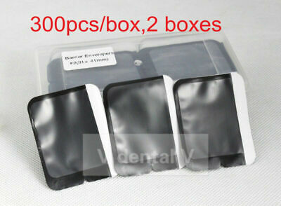 600pc Easy Tear Dental X ray Barrier Envelope for Phosphor Plate Adult Size 2