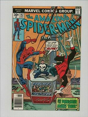 AMAZING SPIDER-MAN #162 Jigsaw Punisher B10.46
