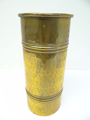 Antique Old Hand Hammered Brass Metal Chinese China Flower Pot Decorative