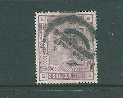 GB Queen Victoria high value used 2/6 SG178 BE
