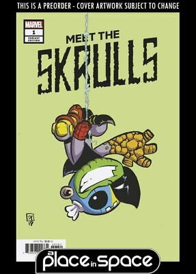 (Wk10) Meet The Skrulls #1B - Skottie Young Variant - Preorder 6Th Mar