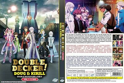 ANIME DVD~ENGLISH DUBBED~Double Decker!(1-13End)All region FREE SHIPPING+GIFT