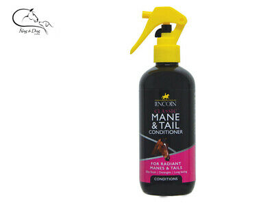 Lincoln Classic Mane & Tail Conditioner Detangler Horse Pet Grooming FREE P&P