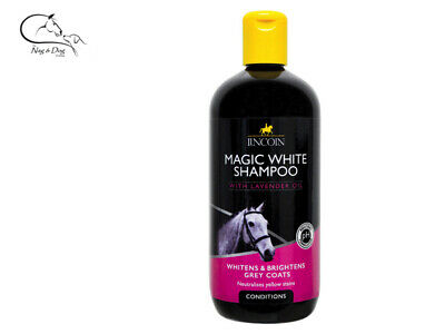 Lincoln Magic White Horse Shampoo Coat Mane Tail Pony Grooming FREE Delivery