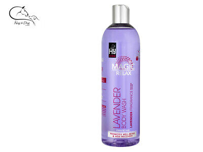 HyShine Lavender Wash No Rinse Horse Pony  Grooming  500ml FREE DELIVERY