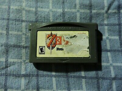 Legend of Zelda Link to the Past Four Swords AUTHENTIC GBA Game Boy Advance