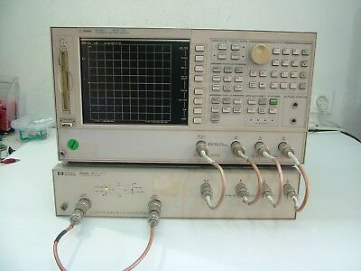 Agilent 8753ES + 85046A 300KHz - 3GHz S Parameter Network Analyzer  Fully Tested