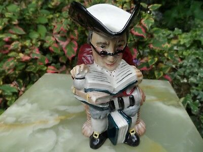 Roy Kirkham Pottery Character Jug Town Clerk *** Perfect *** ( 381553625312 )