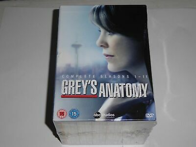 Grey's Anatomy - The Complete Season Series 1-11 Collection - NEW SEALED DVD SET
