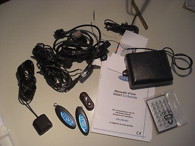 Viasat 5.1 Security Kit  Antifurto Satellitare Allarme Auto Con V-Key E Cablaggi