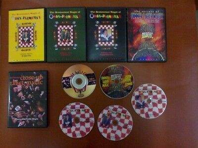 5 DVD Complete series of magic for Restaurant Dining Table Magic Close up trick