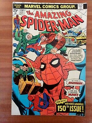 The Amazing Spider Man comic 150th Issue
