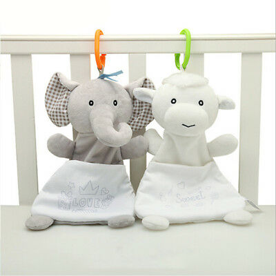 Newborn Baby Appease Towel Grasping Soft Comforting Doll Infant Toys 8C 8C