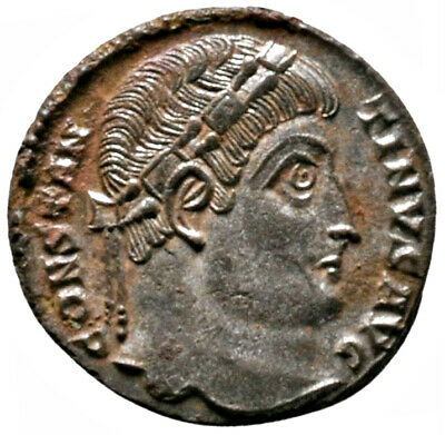 CONSTANTINE THE GREAT (334 AD) Very Rare Follis. Antioch #IU 1610