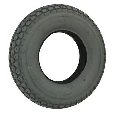 400 x 8 Grey Infilled Block mobility Tyre